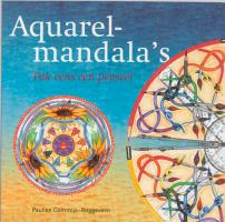 Aquarelmandala's / druk 1 - Commijs-Roggeveen, P.