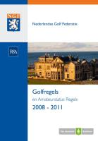De Golfregels 2008 - 2011 / druk 1