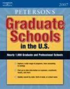 Graduate Schools in the U.S.